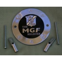 MGF Register Grille Badge